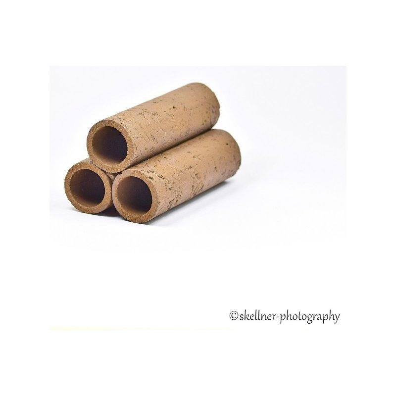 3er Röhrenstapel schwarz/braun