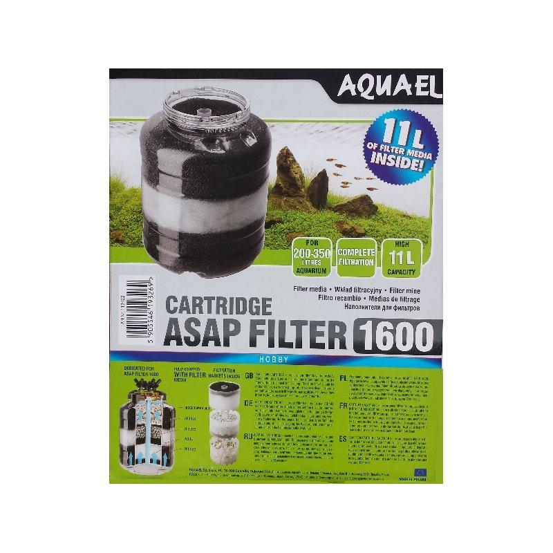 ASAP 1600 Cartridge - Ersatzfilter Kompletset