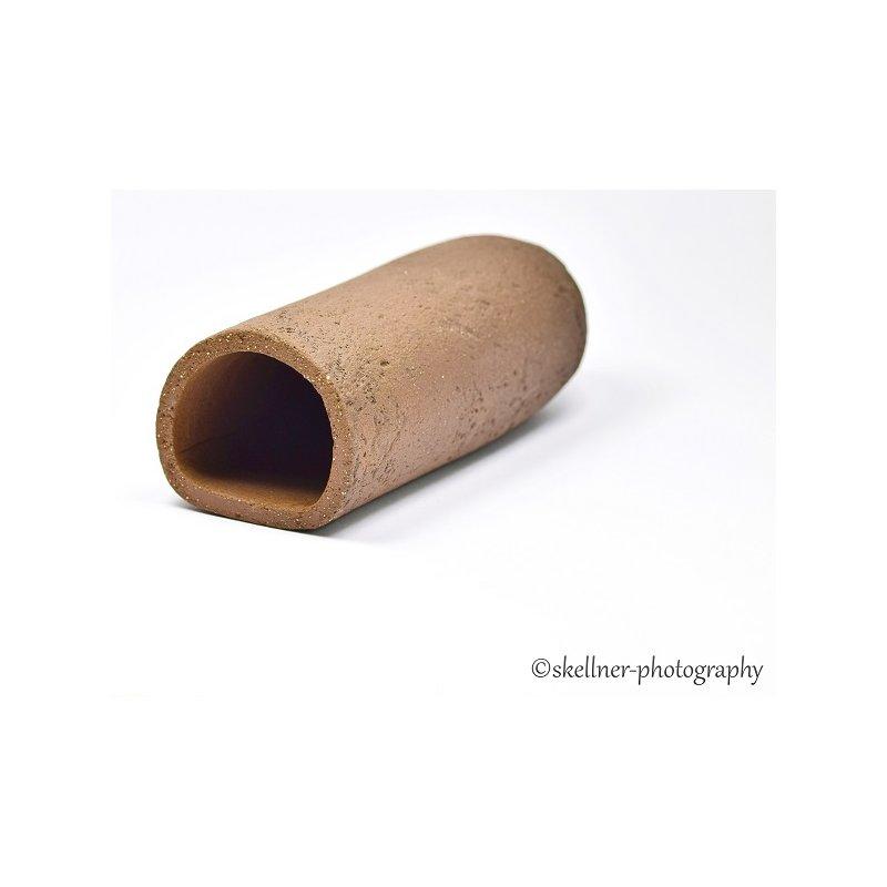 Ablaichhöhle / Welshöhle 10 cm braun/schwarz mit Muster