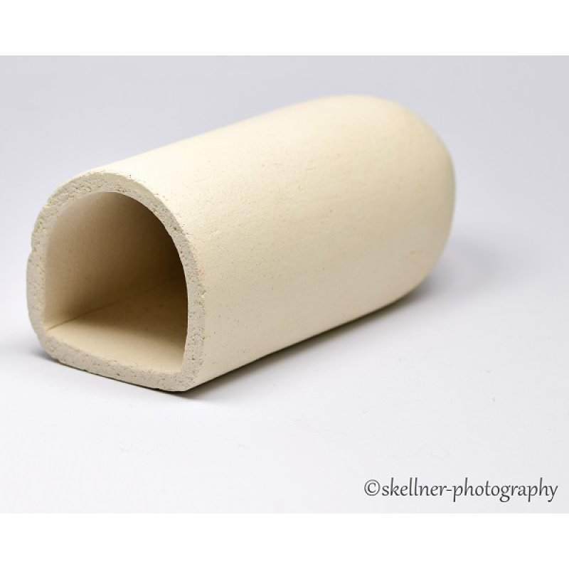Ablaichhöhle / Welshöhle 10 cm weiß
