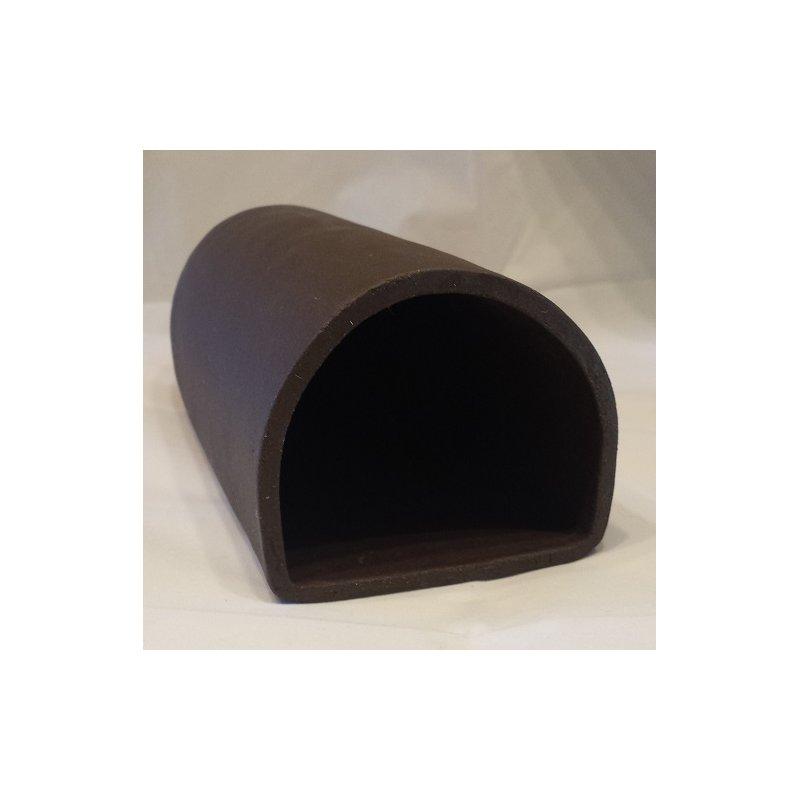 Ablaichhöhle / Welshöhle Mega 23 cm braun / schwarz