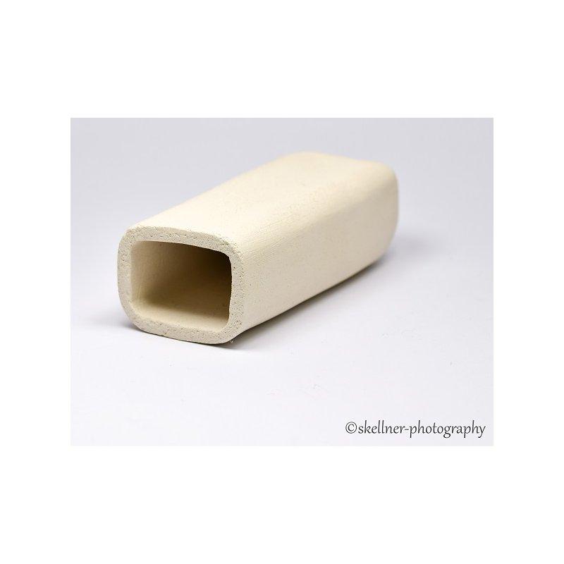 Ablaichhöhle / Welshöhle eckig 10 cm weiß