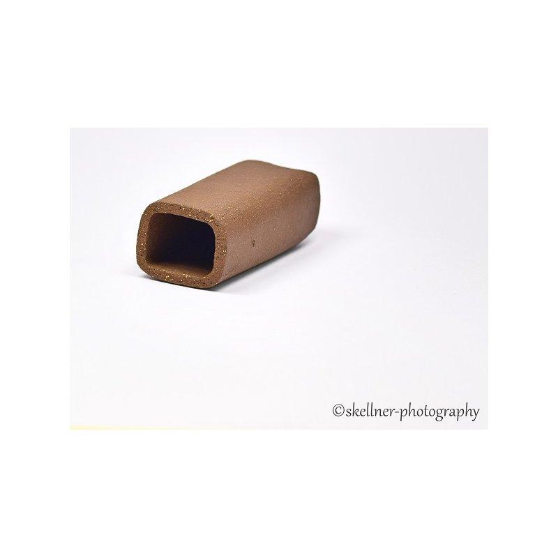 Ablaichhöhle / Welshöhle eckig 5-6 cm braun / schwarz
