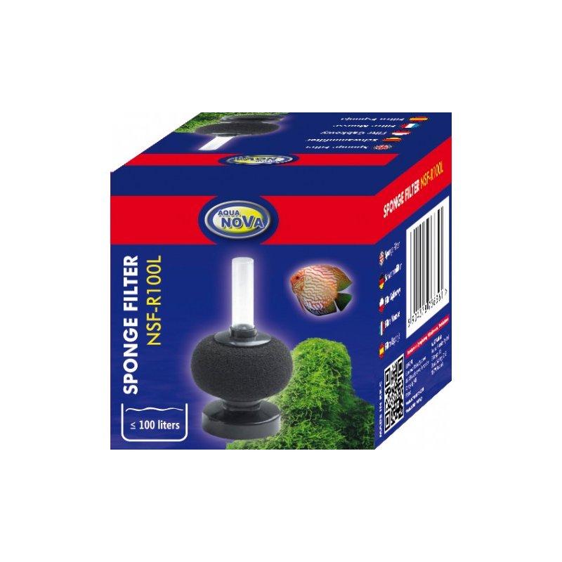Aqua Nova Bio-Schwammfilter - runde Form 100 L