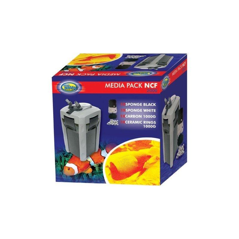 Aqua Nova Filtermedien Pack für NCF-2000 Außenfilter