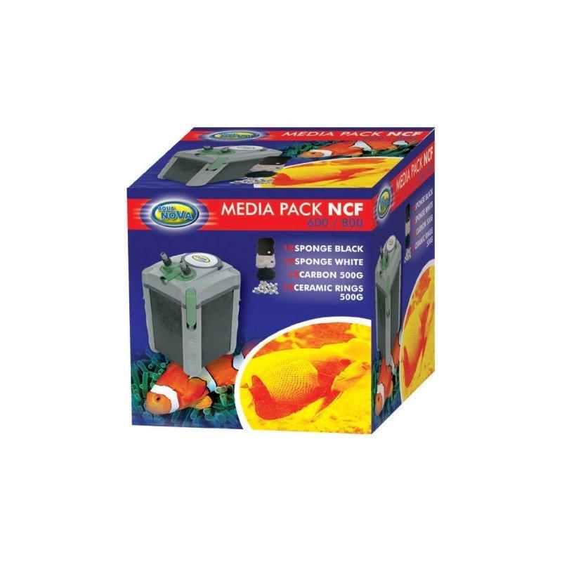 Aqua Nova Filtermedien Pack für NCF 600/800 Außenfilter