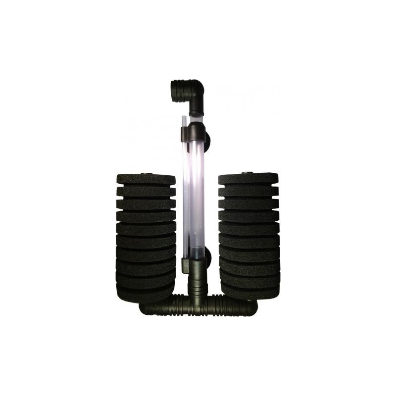 Aqua Nova doppelter Bio-Schwammfilter 200 L