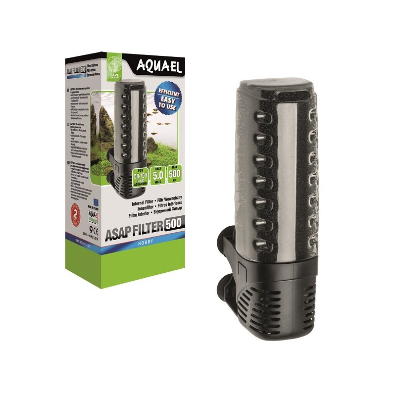 Aquael Innenfilter ASAP 500 / 50 - 150 L