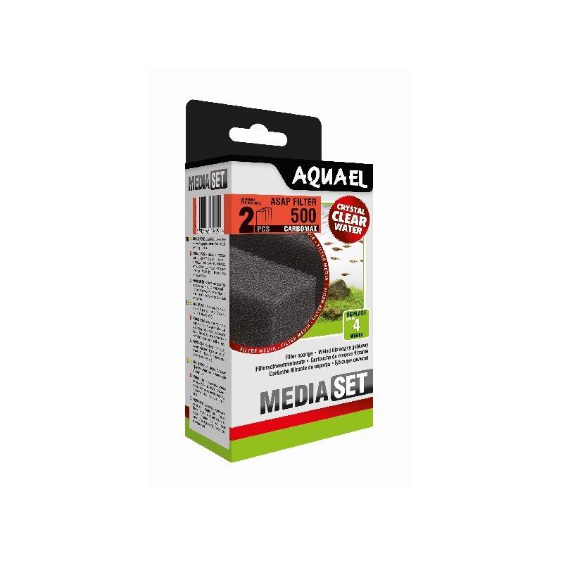 Aquael Media Set ASAP 500 Carbomax