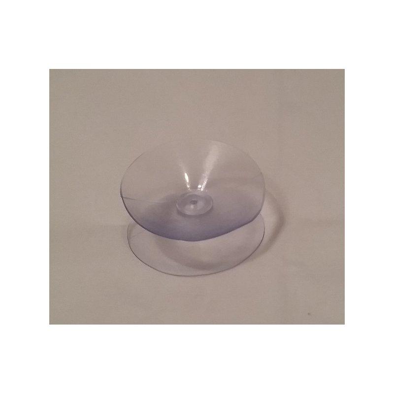 Doppelsauger transparent 35mm