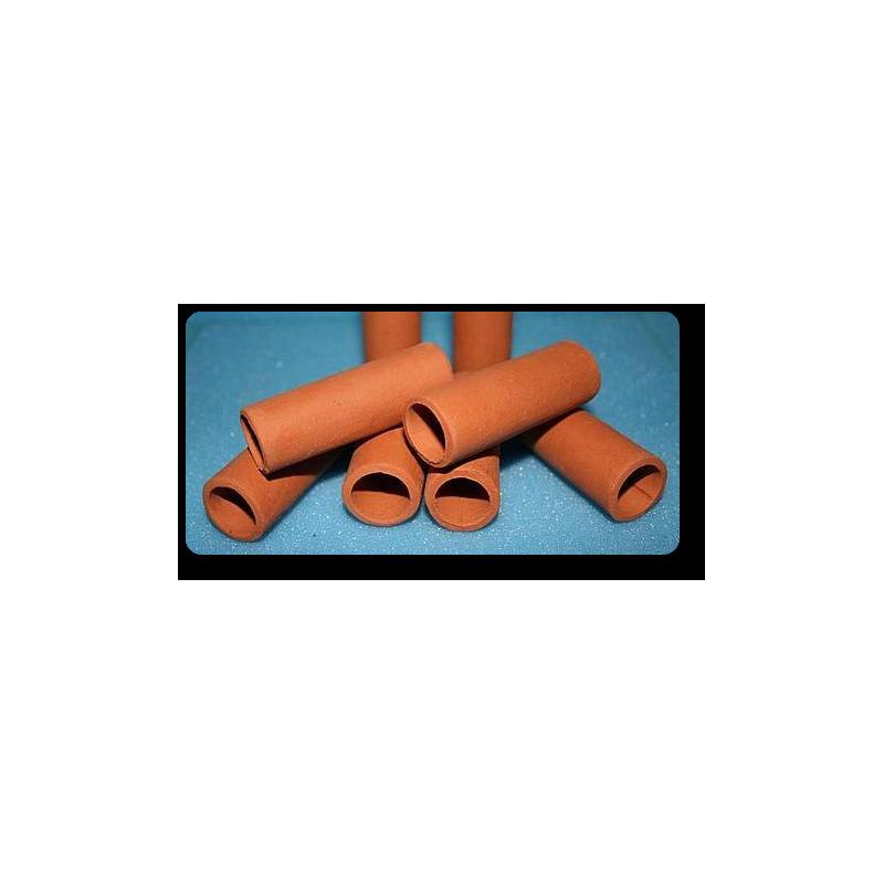 Garnelen / Krebsröhre ca. 6 cm terra