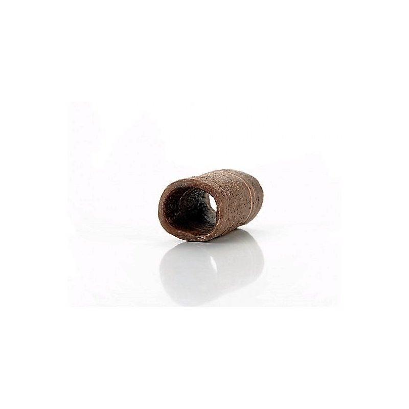 Garnelen- Krebsröhre dunkel ca. 44x15mm