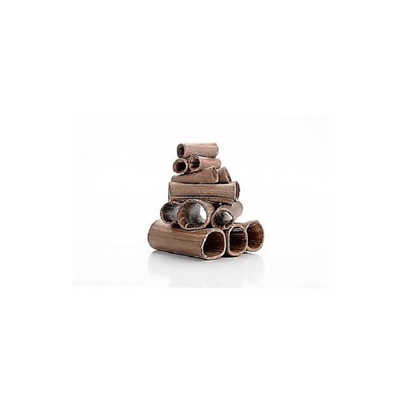 Garnelenturm - Stapel aus Röhren dunkel ca. 90x80x110mm