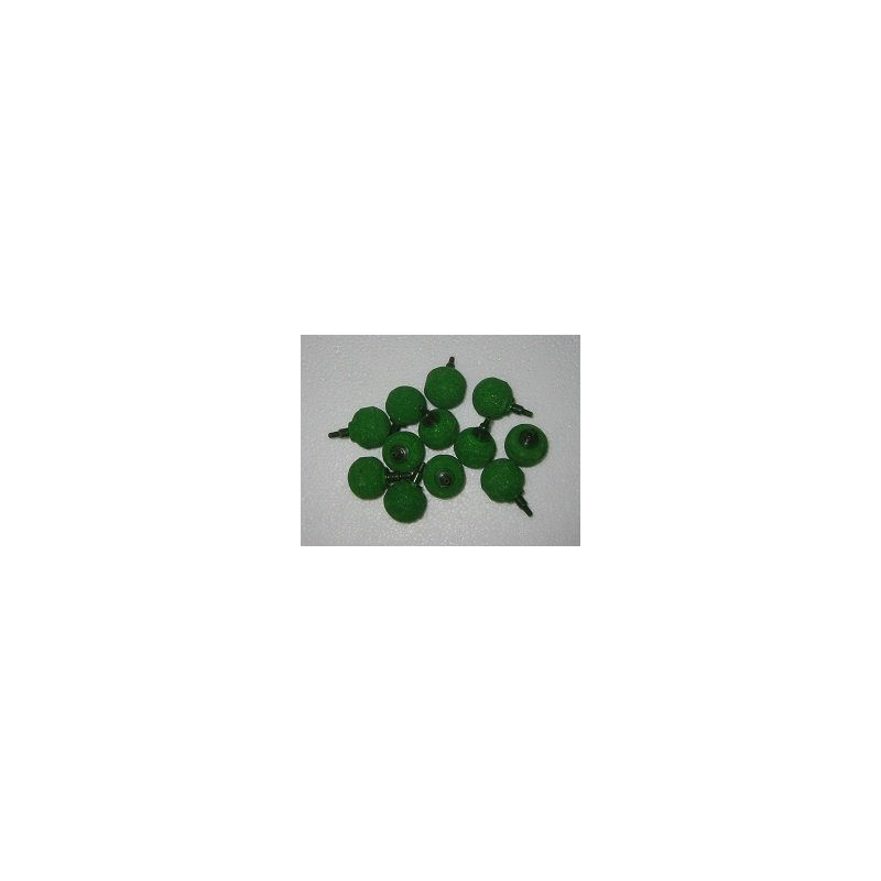Kugel-Ausströmerstein grün 22 mm - lose Ware