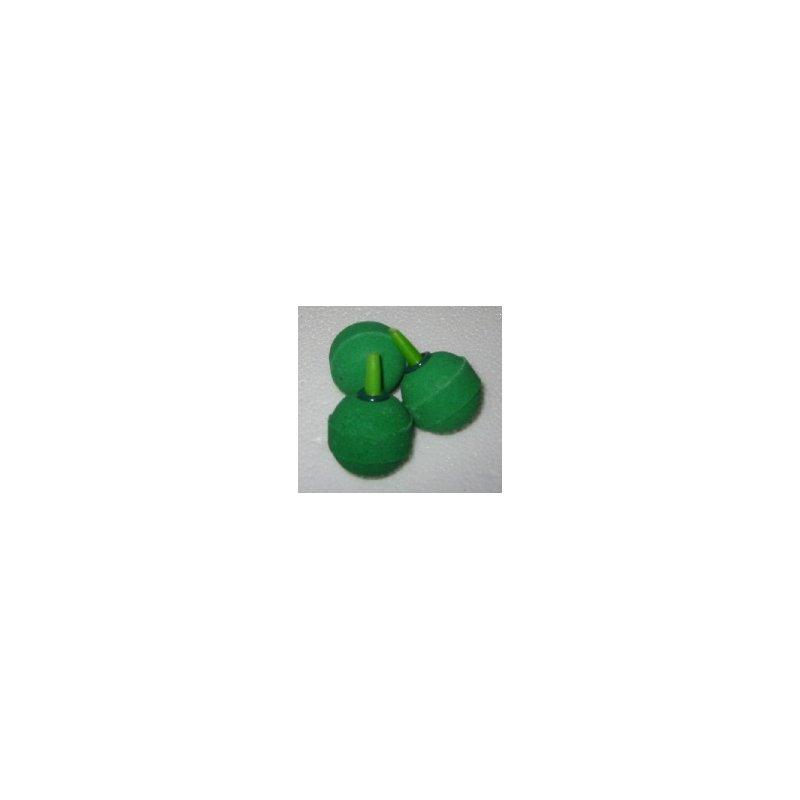 Kugel-Ausströmerstein grün 30 mm - lose Ware