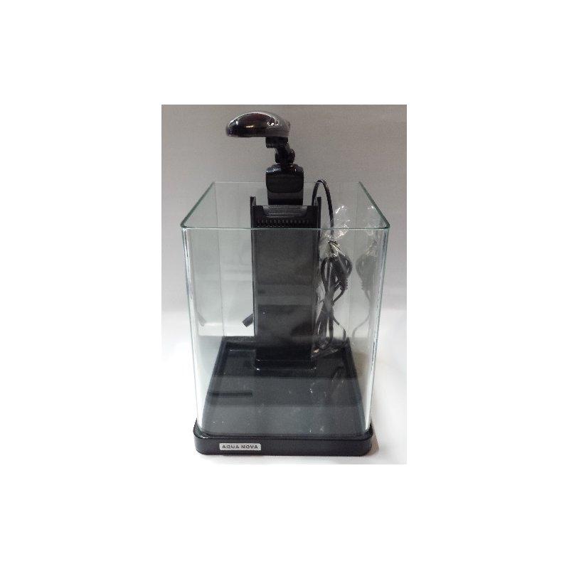 Nano-Komplett LED-Aquarium - 10 Liter in schwarz