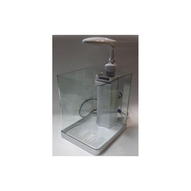 Nano-Komplett LED-Aquarium - 14 Liter weiß