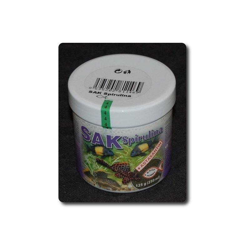 SAK Spirulina Granulat Größe 0 - 250 ml