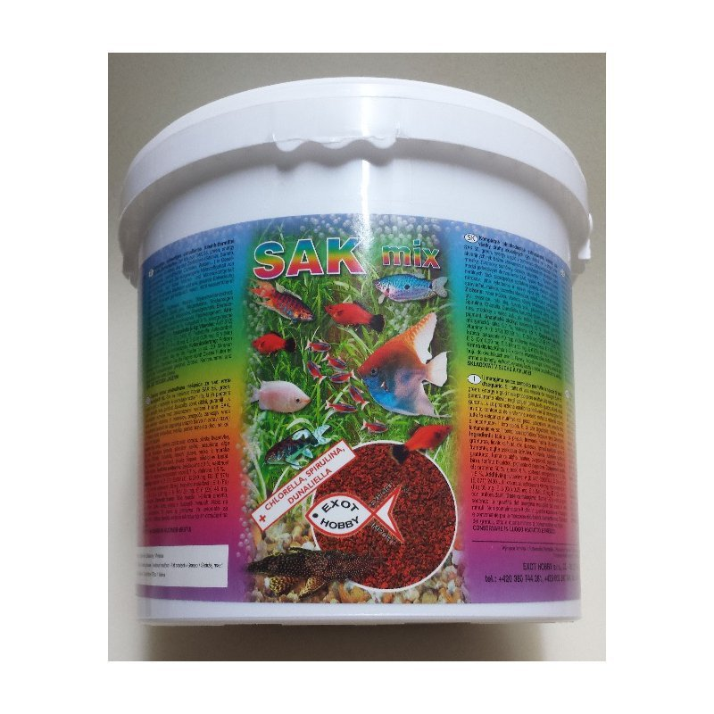 SAK mix Granulat Größe 4 - 3400 ml