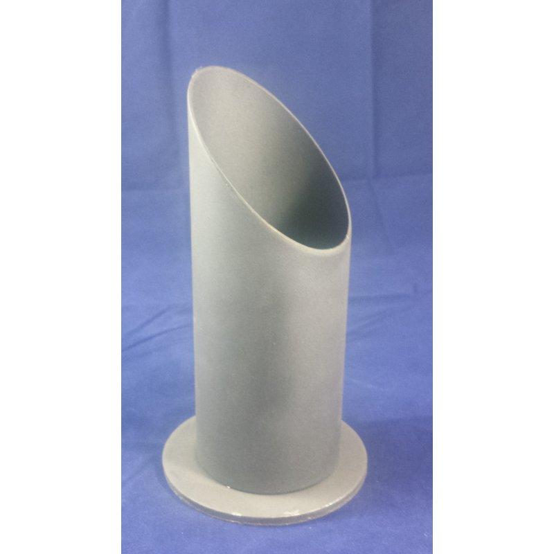 Standfuß für 500 g Co2 Stahlflasche
