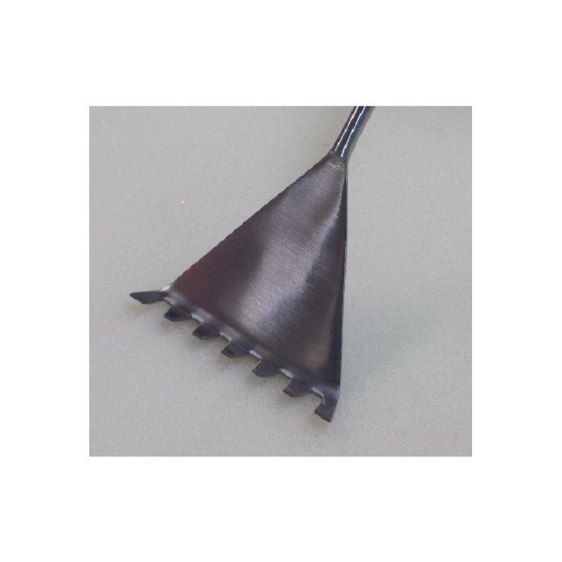 Wellen Kies Spatel mit Harke / Wave Spatula 31 cm