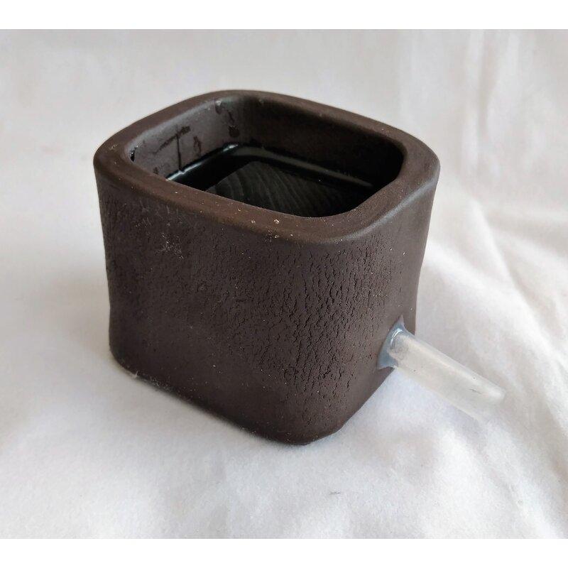 keramischer Diffusor / Luftstein schwarz ca. 55x55x45mm