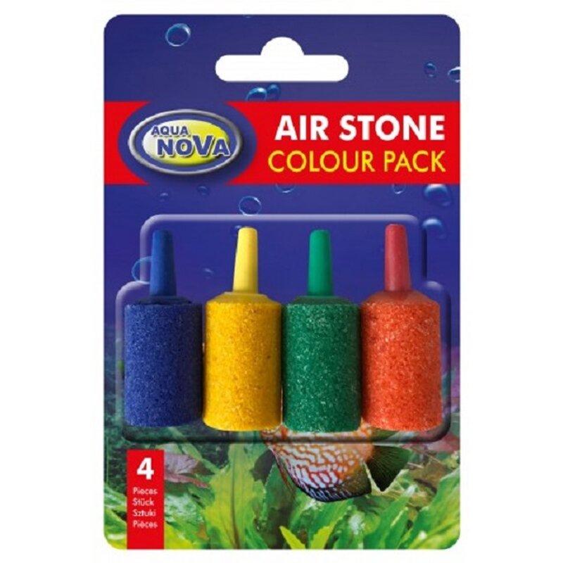 Luftsteine 4-farbig 15x25 mm