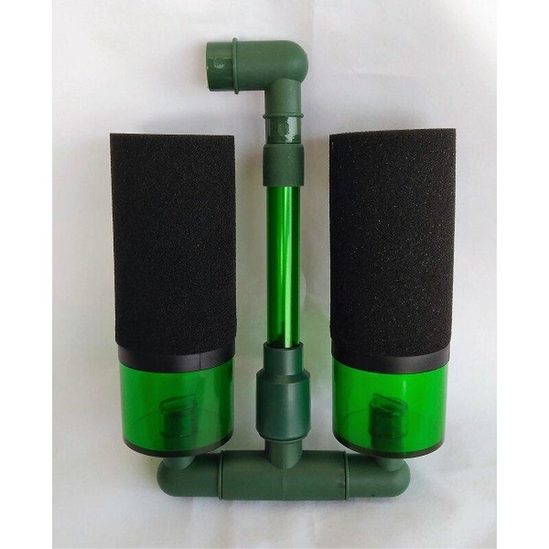 Bio-Schwammfilter mit zusätzlichen Filterkammern