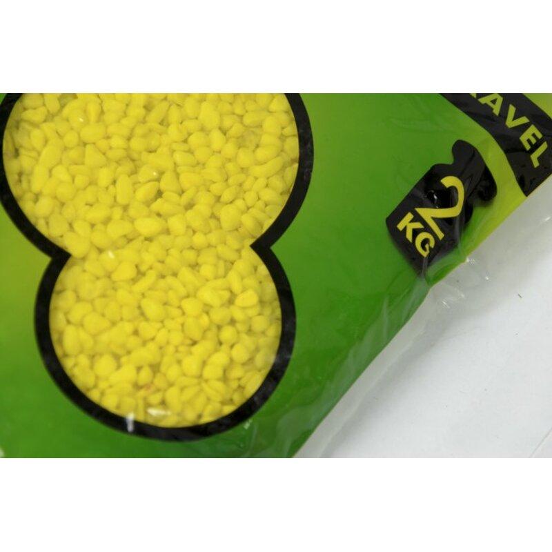 farbiger Bodengrund gelb 2 kg