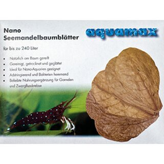 aquamax Nano - Seemandelbaumblätter (aquamax Terminalia Catappa Leaves)