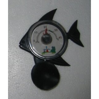 Innen - Thermometer in Fischform